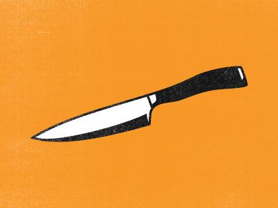 Stabby McKnife logo identity knife