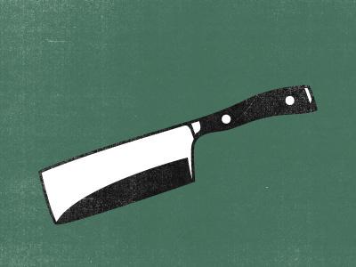 Choppy McKnife logo identity knife