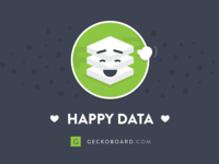 Happy Data! - Postcard