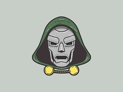 Dr. Doom book comic villain four fantastic doom dr