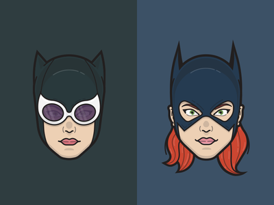 Catwoman & Batgirl book comic superheroes gordon barbara batgirl kyle selina catwoman