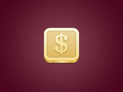 iPhone Money Icon money dollar gold penny iphone