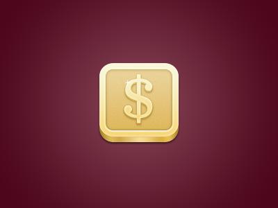 iPhone Money Icon money dollar gold penny iphone