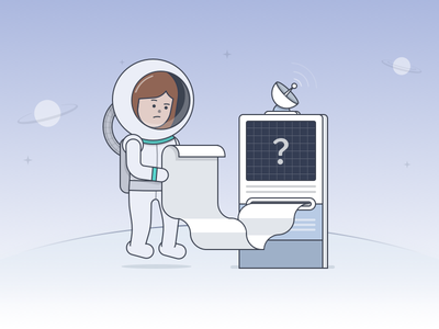 Basic Guide to Data Analysis terminal astronaut space illustration guide analysis data