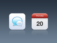 Messages + Calendar