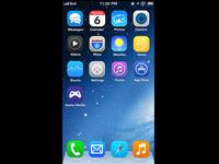 iOS 7 Springboard Concept