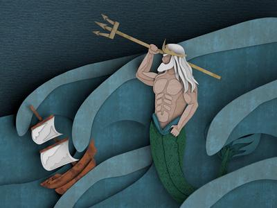 Pandora's Box Illustration (Poseidon)