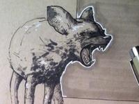 Inktober Hyena