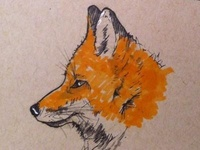 Inktober Fox