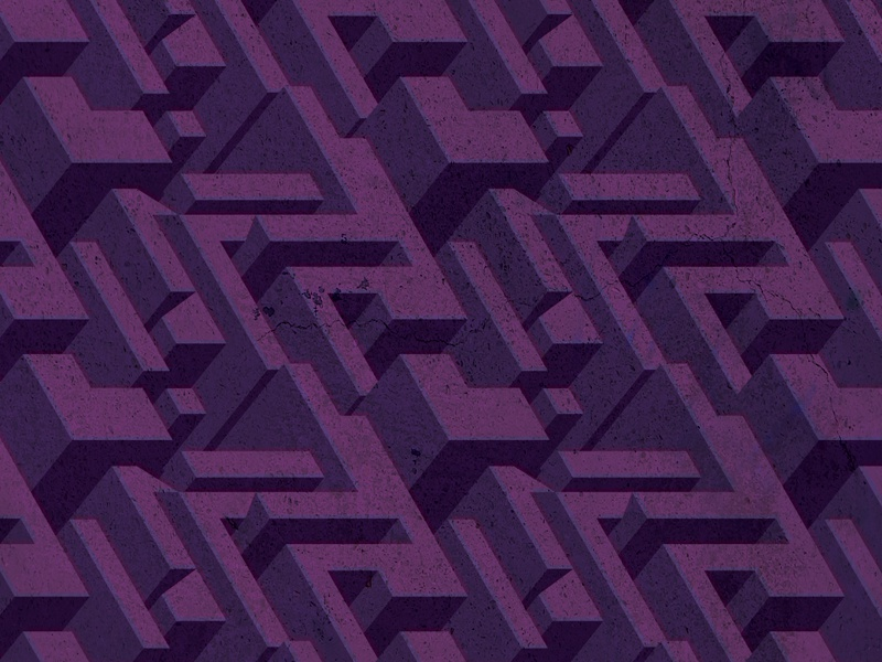 Pattern Background background purple blocks 3d pattern future retro