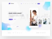 AIMedia Website Design