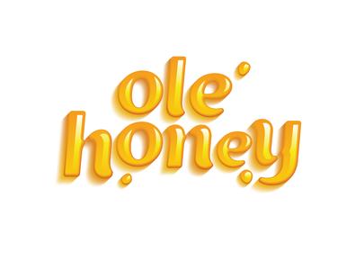 Ole Honey Candy Logo atlanta illustration identity georgia mullican design logo mullicandesigns brand identity brand branding ole honey candy logo ole honey candy logo