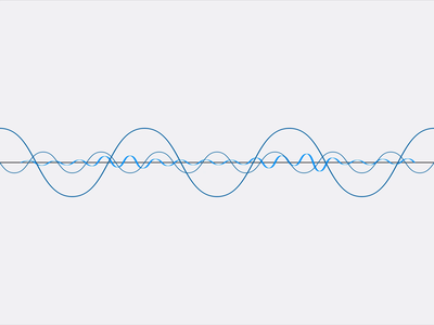 Waveform freelance animator audiowave siri icons animation after effects illustration waveform motion graphics