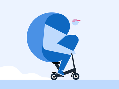 C scooter characterdesign 36daysoftype08 36daysoftype