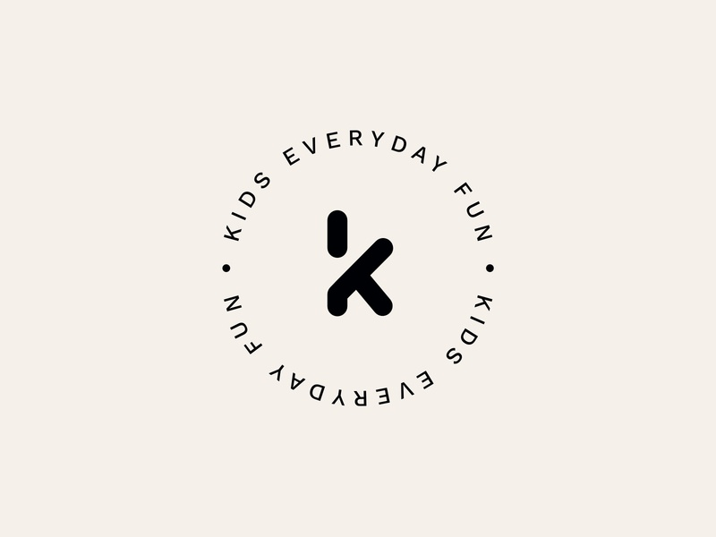 Kikidu Kids instagram post brand guidelines brand book slide toys typo logos wood kids logodesign logotype logo
