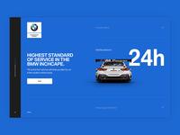 BMW Landing Page