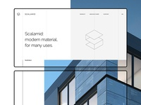 Scalamid Landing Page