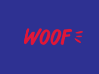 Woof Dog Rehoming Centre Logo