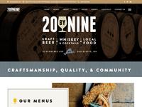 20byNINE Website