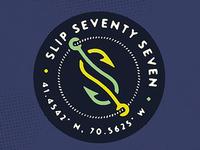 Slip77 Hooks Tee Design