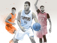 NBA Photo Illustration
