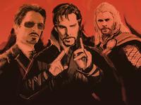 Marvel Photo Illustration