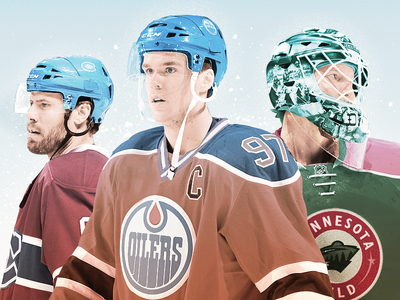 NHL Power Rankings Photo Illustration