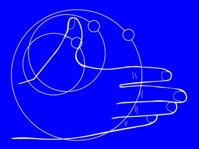 Hand Study for Digital Technology