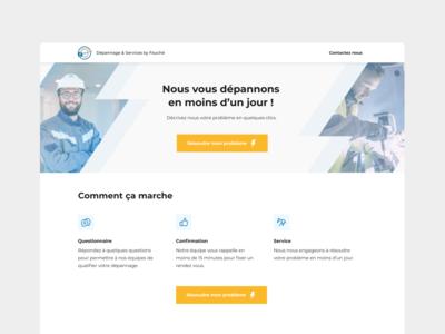 Landing page - Fauché Group