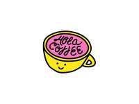 Hola Coffee Logo