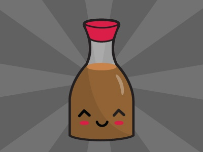 Soysauce soysauce japanese kawaii cute jar soy sauce