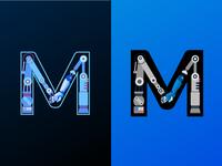Robotic Letter M