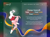 """Eight"" Concept Web design"
