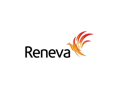 Reneva Collagen Protein Drink, Logo Design phoenix logo design logo animal branding