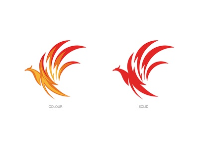 Reneva Collagen Protein Drink, Logo Design phoenix logo animal logodesign logo branding
