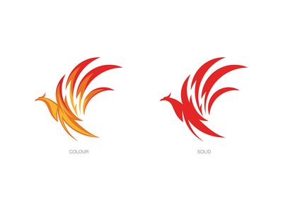 Reneva Collagen Protein Drink, Logo Design phoenix logo animal logodesign logo branding
