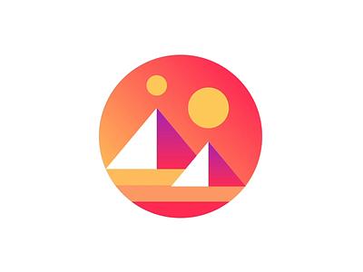 Decentraland Logo Reveal loading animation loading loop motion animation logo gradients motion ui loader spinner logo animation logo reveal