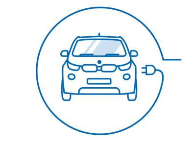 Electric Car Charging illustrator illustration vector charging car electric