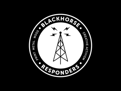 Logos that didn't make the cut - Vol. 1 call to arms radio black blackandwhite brand design branding illustrator vector logo
