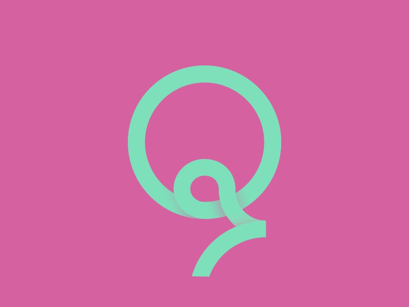 #Typehue Week 17: Q monogram q type typehue logo lighthouselondon lettering