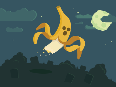 I ain't afraid of no (banana) ghost!