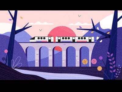 Outdoor Train Ride