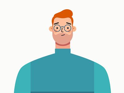 Male Character Design male character character designer male character animation animation character design affinity designer illustration vector design