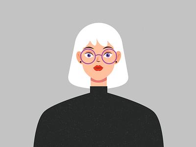 Female Character Design female women woman lady motion design character animation character design affinity designer illustration vector design