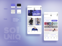 E-Commerce App - So Uniq!