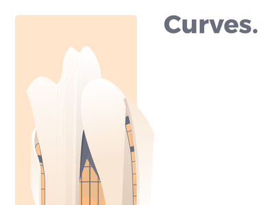 Curves ng ssilbi iphone wallpaper minimalist illustration seoul dior christian curves light architecture