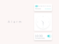 Ui elements - Alarm