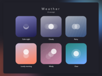 Weather Ui Concept