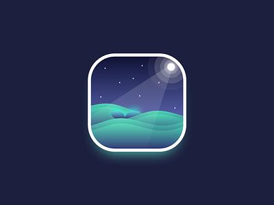 Whale gradient ssilbi vector illustration sketch ui design icon app whale