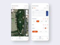 Golf Scorecard & GPS minimal design score ux app sports ui gps scorecard golf